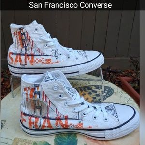 cd149ab5d2 Converse Shoes - CONVERSE CITY SCAPES SAN FRANCISCO ALL STARS LE